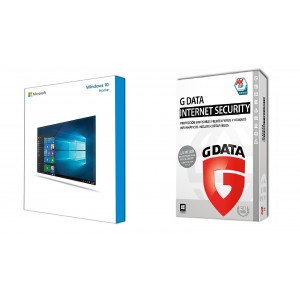 Windows 10 home + GData Internet Security 1 año