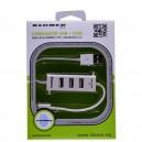 CARGADOR UNIVERSAL USB + HUB PARA BLACKBERRY, HTC, SAMSUNG